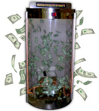 Cash Cubes provide trade show lead generation opportunity!